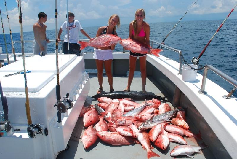 Photo gallery orange beach al deep sea fishing for Deep sea fishing orange beach